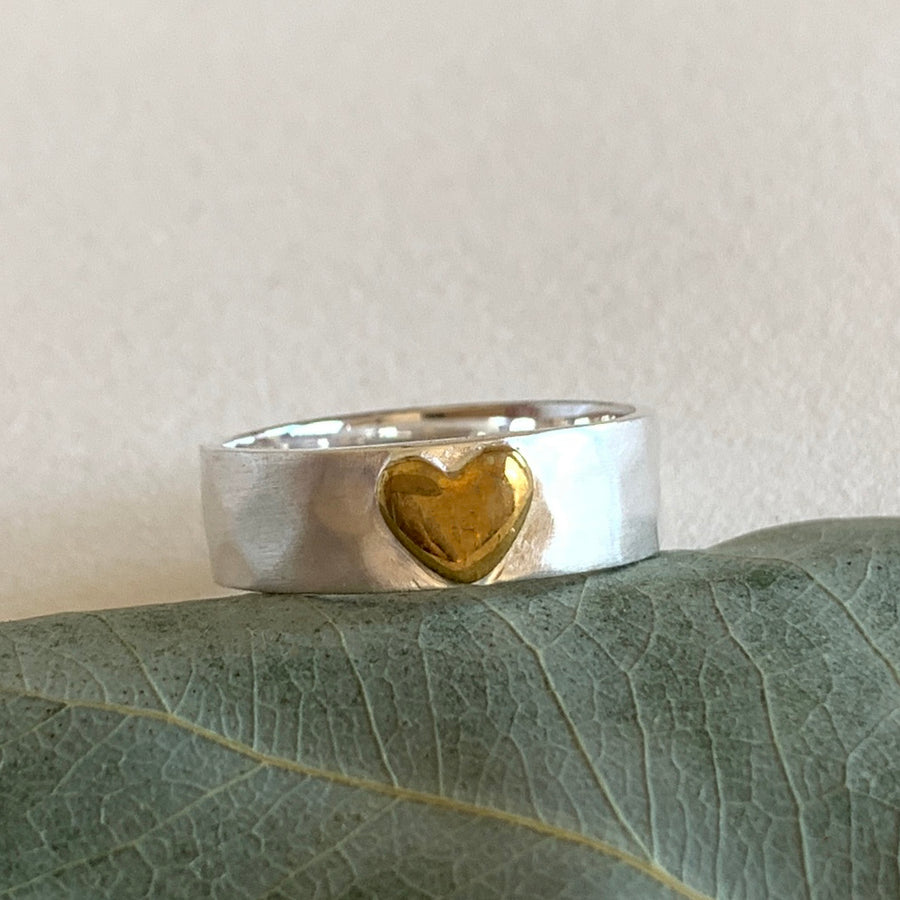 The Silver Heart Ring (RG05)
