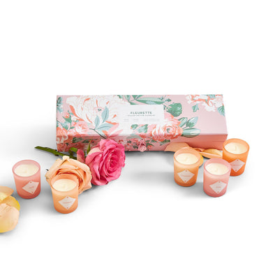 Fleurette Candle Gift Set, Luxury Candles
