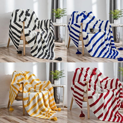 Amira Striped Throw