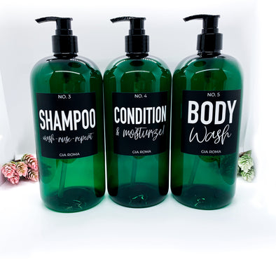 32oz Shower - Emerald Green