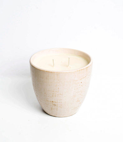 Candle Vases, Soybean Wax, Ceramic Planter