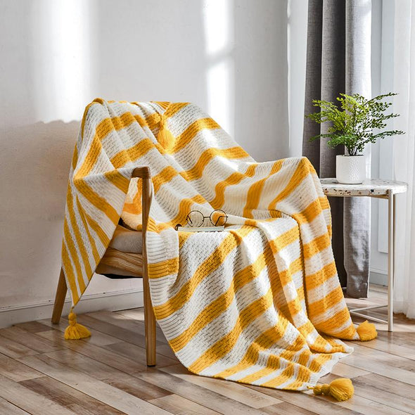 Amira Striped Throw - Gia Roma