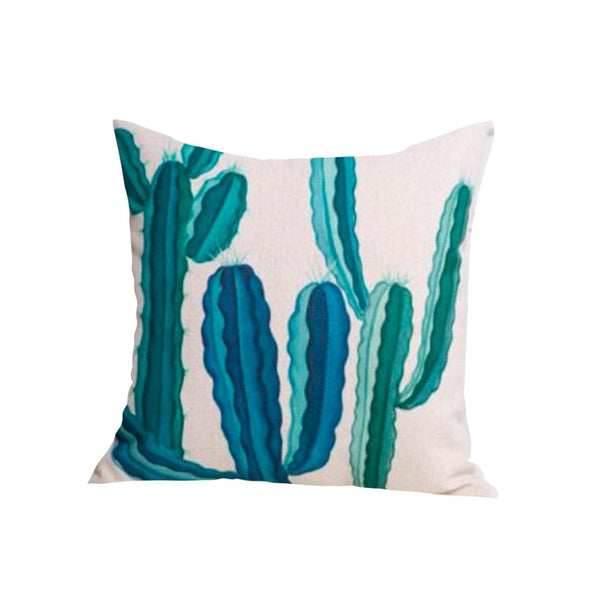 Succulent Throw Pillow, Cactus Decoratives
