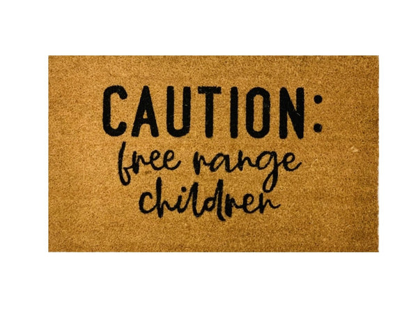 Caution Children