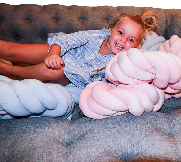 Imperfect Knot Pillows