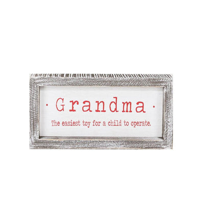 Funny Grandma Signs, Funny Christmas Grandparent Signs & Gifts