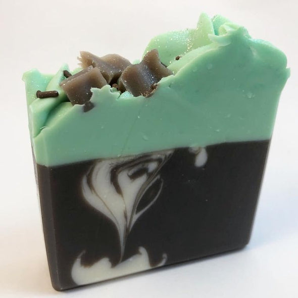 Mint Chocolate Soap Sm