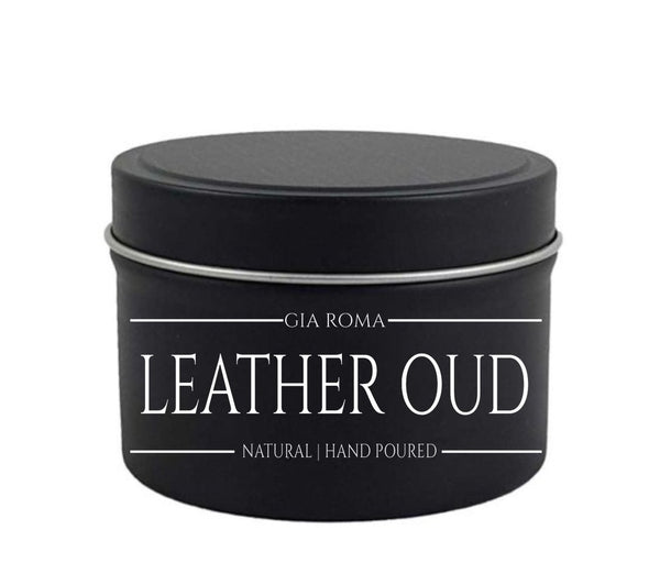 Leather Oud Soy 8oz
