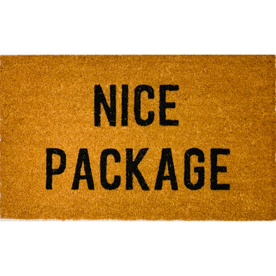 Nice Package doormat