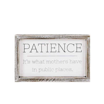 Patience & Mothers