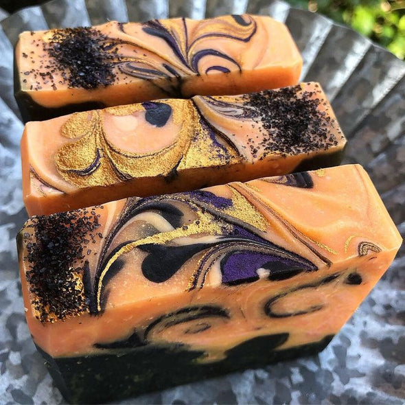 Pumpkin Spice Bath and Body Bars, Pumpkin Bars, Unique Gift for PSL Lovers, Pumpkin Spice Soap Bar