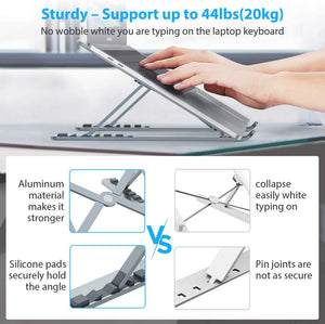 Exclusive Most Collapsible Laptop Stand