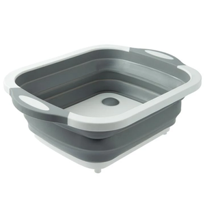 2-in-1 Collapsible Kitchen Storage Basket And Chopping Board
