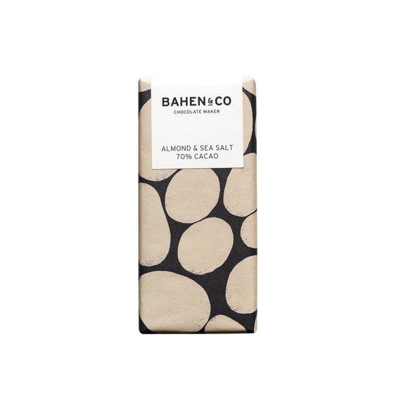 Bahen & Co Almond & Sea Salt 70% [75g]