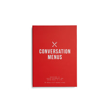 The School Of Life Conversation Menus