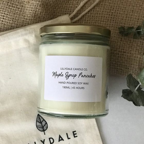 Lilydale Candle Co // Maple Syrup Pancakes