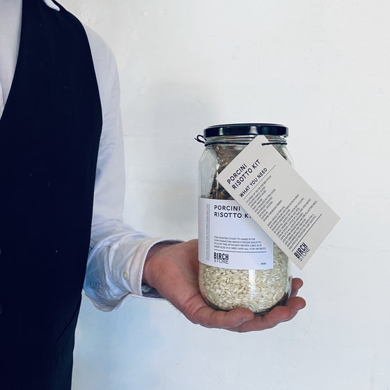 Porcini Risotto Kit by Birch