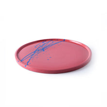 R.L.Foote Splash Plate [Red with Blue]