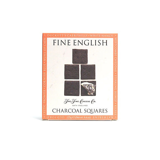 Fine English Charcoal Square Crackers (125g)