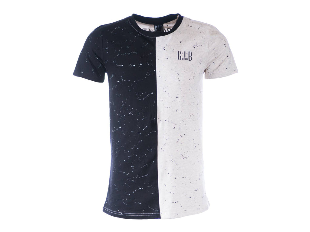 Paint Splatter GIB T-shirt White