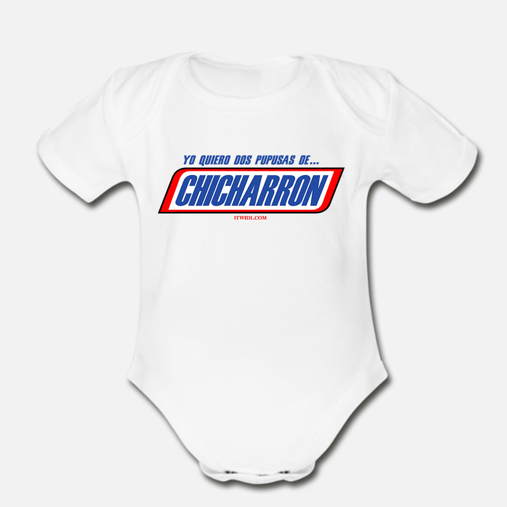Dos Pupusas de Chicharron Infant Onesie