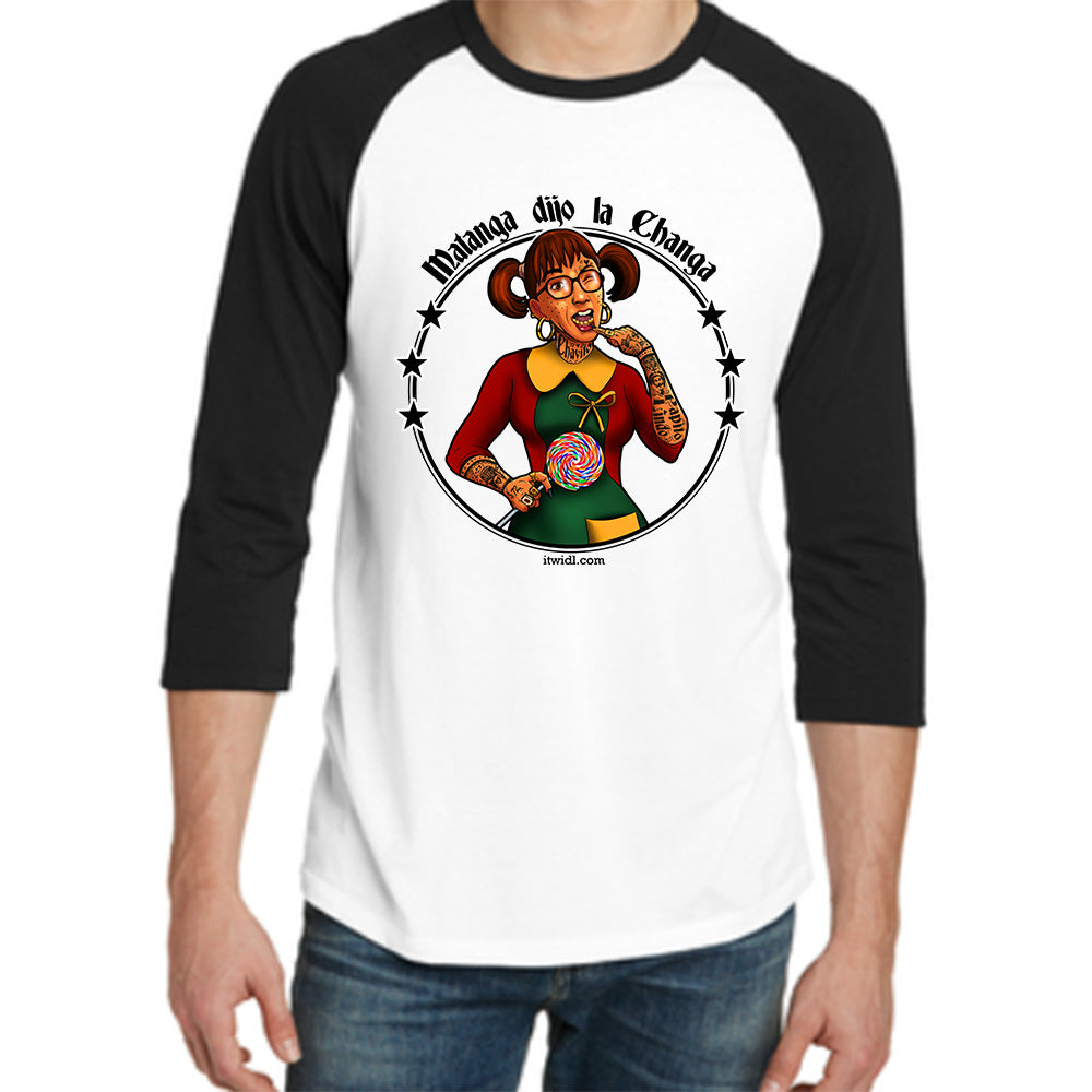 La Chilindrina Men Raglan T-shirt