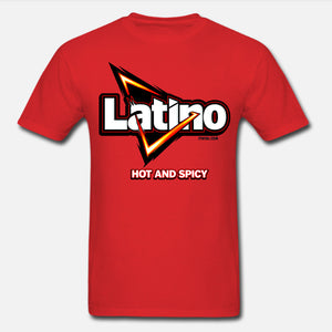 Latino... Hot & Spicy Unisex T-Shirt