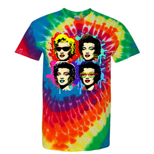 The one and only Marilyn Unisex T-Shirt (Tie-Dye)