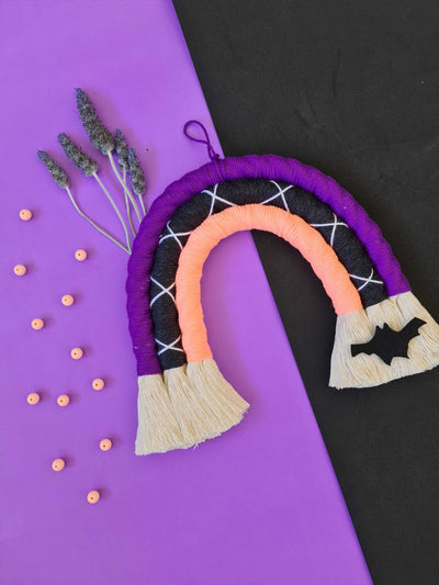 Halloween | Rainbow Wall Hanging | Trick or Treat | Eco Friendly Neon Rope