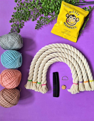 DIY 4 Piece Macrame Rainbow Kit | Do it Yourself Rainbow