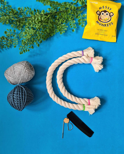 DIY Macrame Moon Luna Kit | Do it Yourself Rainbow