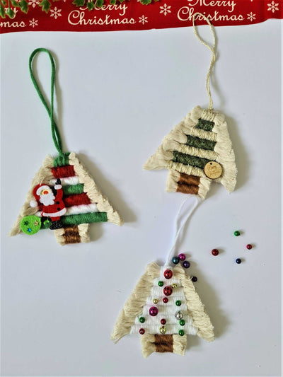 Christmas Ornaments | Handmade Macrame Rainbow