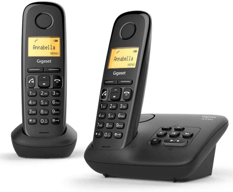 Gigaset A270A Duo DECT Cordless Phone With Answering Machine (New)