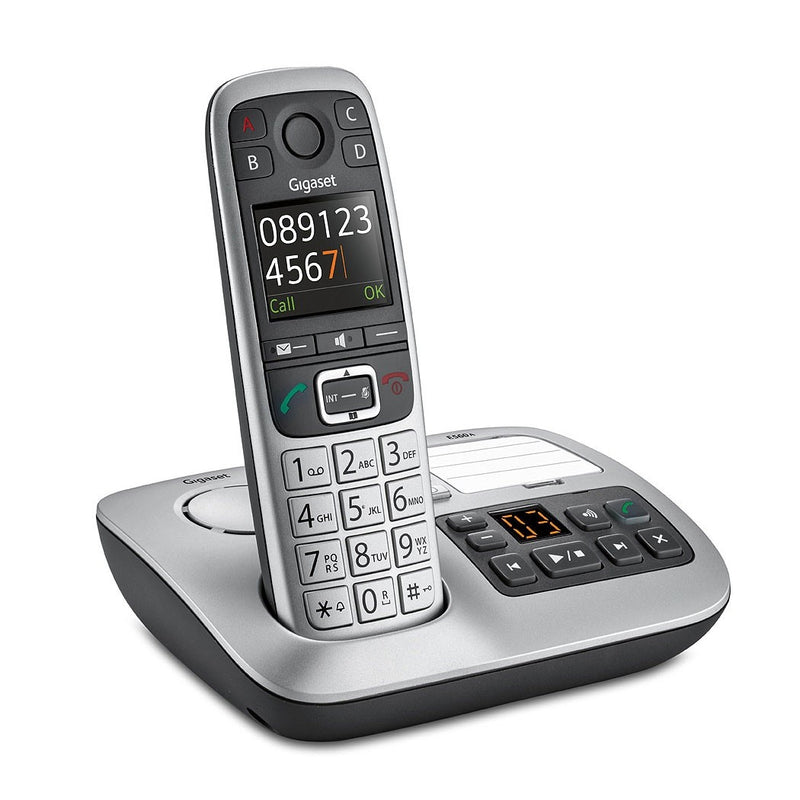 Gigaset E560A Cordless Phone Single Handset With Big Buttons (New)