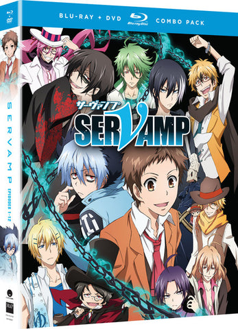 Servamp Season 1 Blu-Ray/DVD