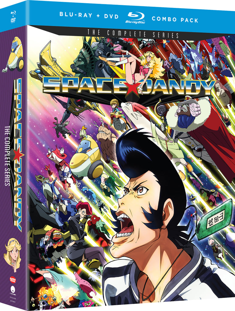 Space Dandy Complete Series Blu-Ray/DVD