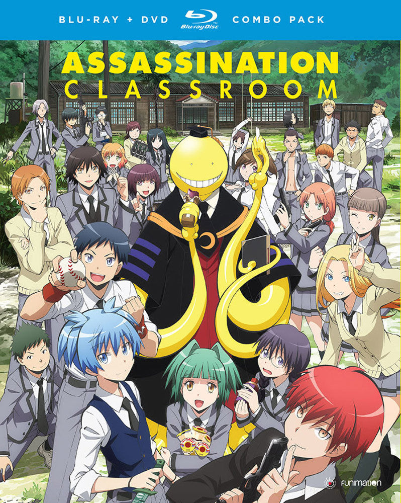 Assassination Classroom Season 1 Part 1 Blu-Ray/DVD
