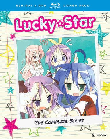 Lucky Star Complete Series + OVA Blu-Ray/DVD