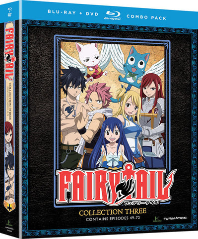 Fairy Tail Collection 3 Blu-ray/DVD