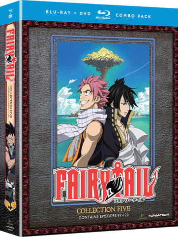 Fairy Tail Collection 5 Blu-ray/DVD
