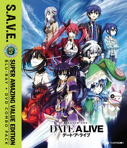 Date a Live: Season 1 SAVE Edition (Blu-Ray/DVD Combo)