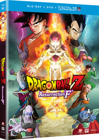 Dragon Ball Z Resurrection F Movie Blu-Ray/DVD + Digital HD
