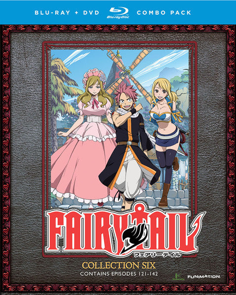 Fairy Tail Collection 6 Blu-ray/DVD