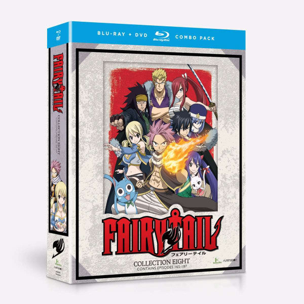 Fairy Tail Collection 8 Blu-Ray/DVD