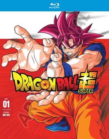 Dragon Ball Super Part 1 Blu-Ray