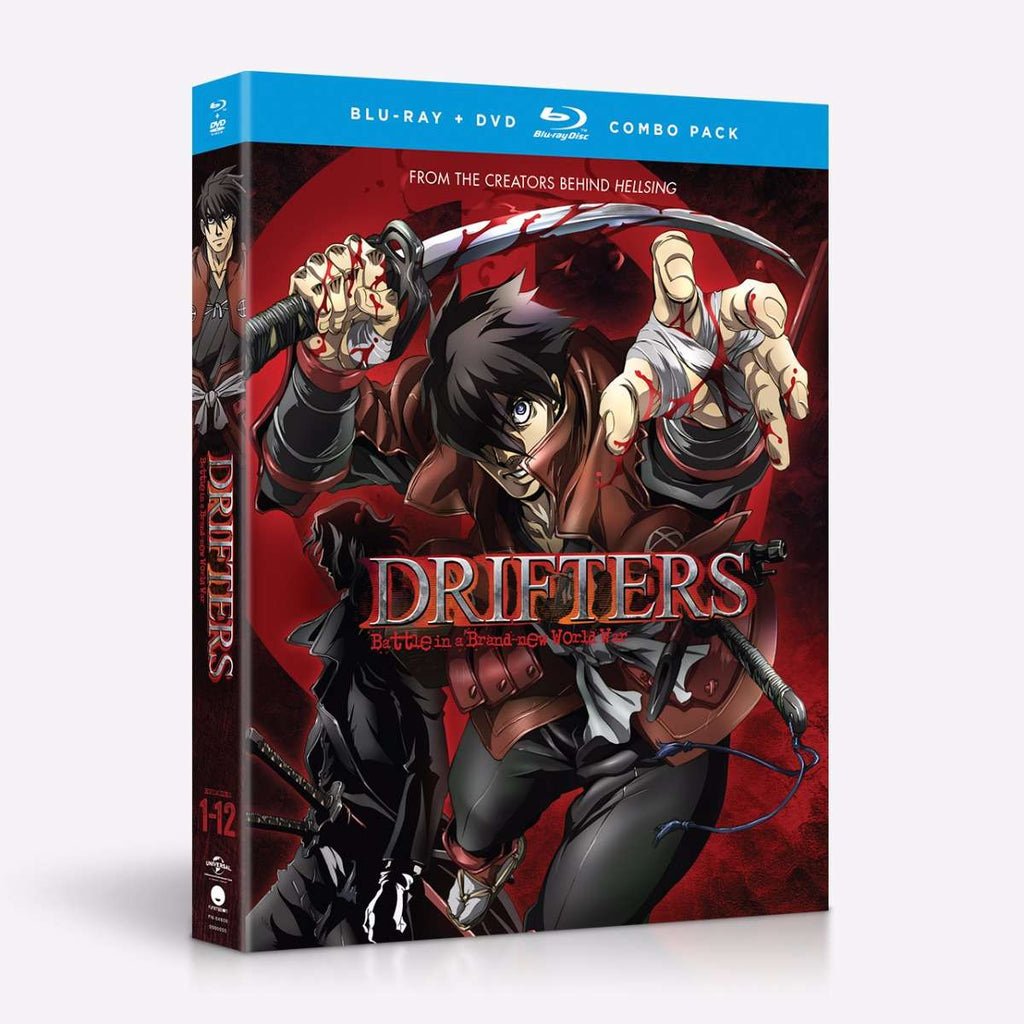 Drifters Complete Series Blu-Ray/DVD