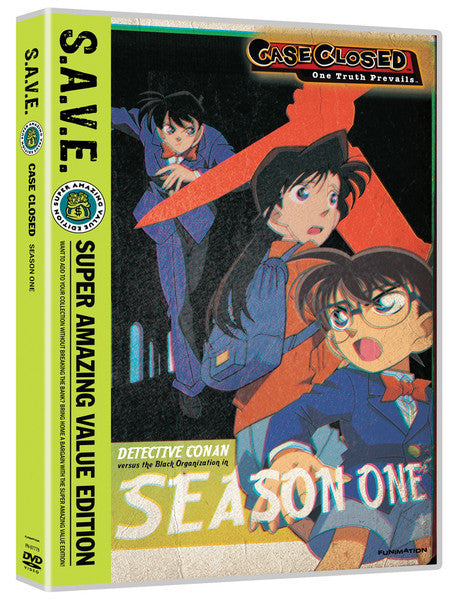 Case Closed Season 1 DVD Box Set S.A.V.E. Edition
