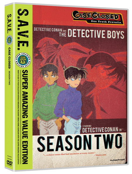 Case Closed Season 2 DVD Box Set S.A.V.E. Edition