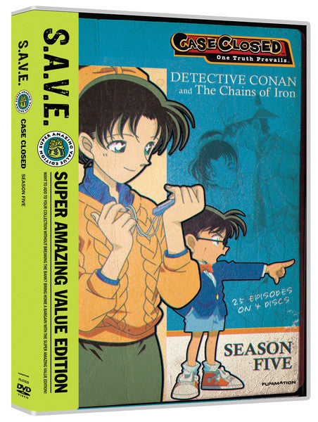 Case Closed Season 5 DVD Box Set S.A.V.E. Edition