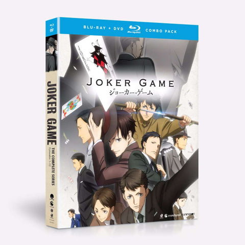 Joker Game Blu-Ray/DVD